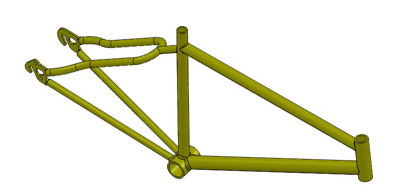 Static Analysis of a Bike Frame - SolidWorks is Engineering ...
