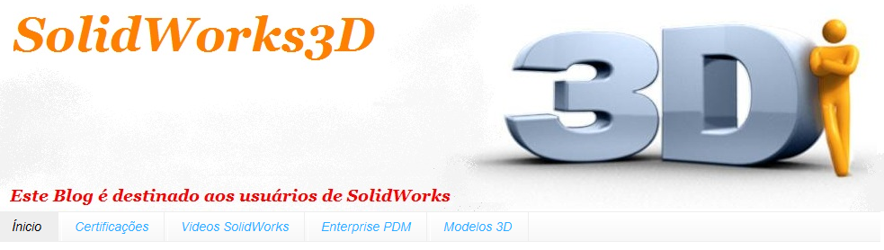 Brazilian SolidWorks Blog in Portuguese to Help Teachers and Students