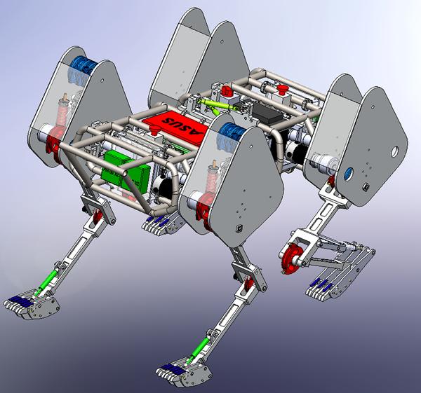 WPI sabertooth robotics SolidWorks Model v1