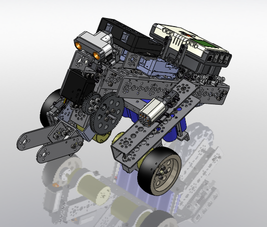 Tetrix Robot Models for FTC Competition in SolidWorks