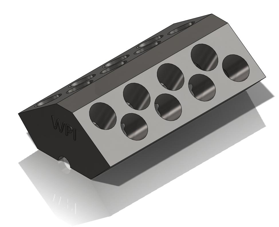 W16 Engine: The Block