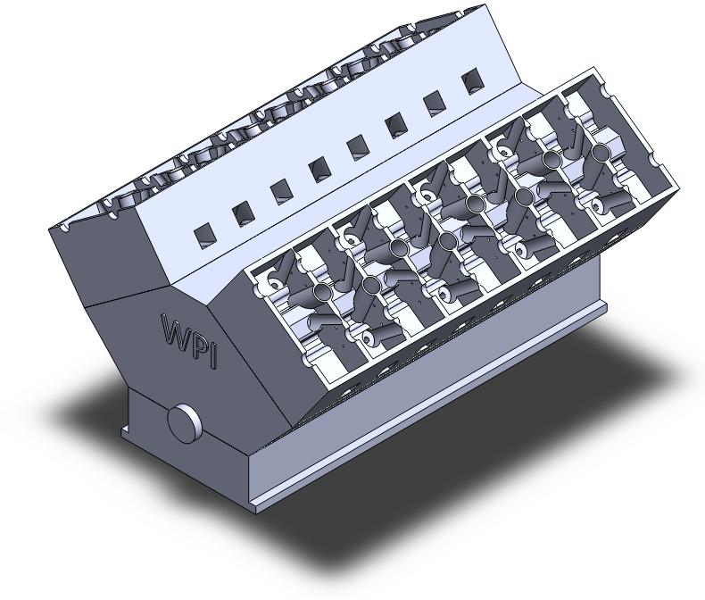 Motor W16: Chiulasa (Partea III)