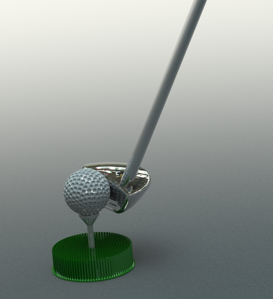 Golf Equipment in SolidWorks
