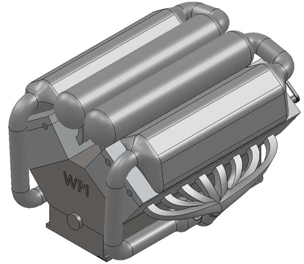 W16 Engine Solidworks