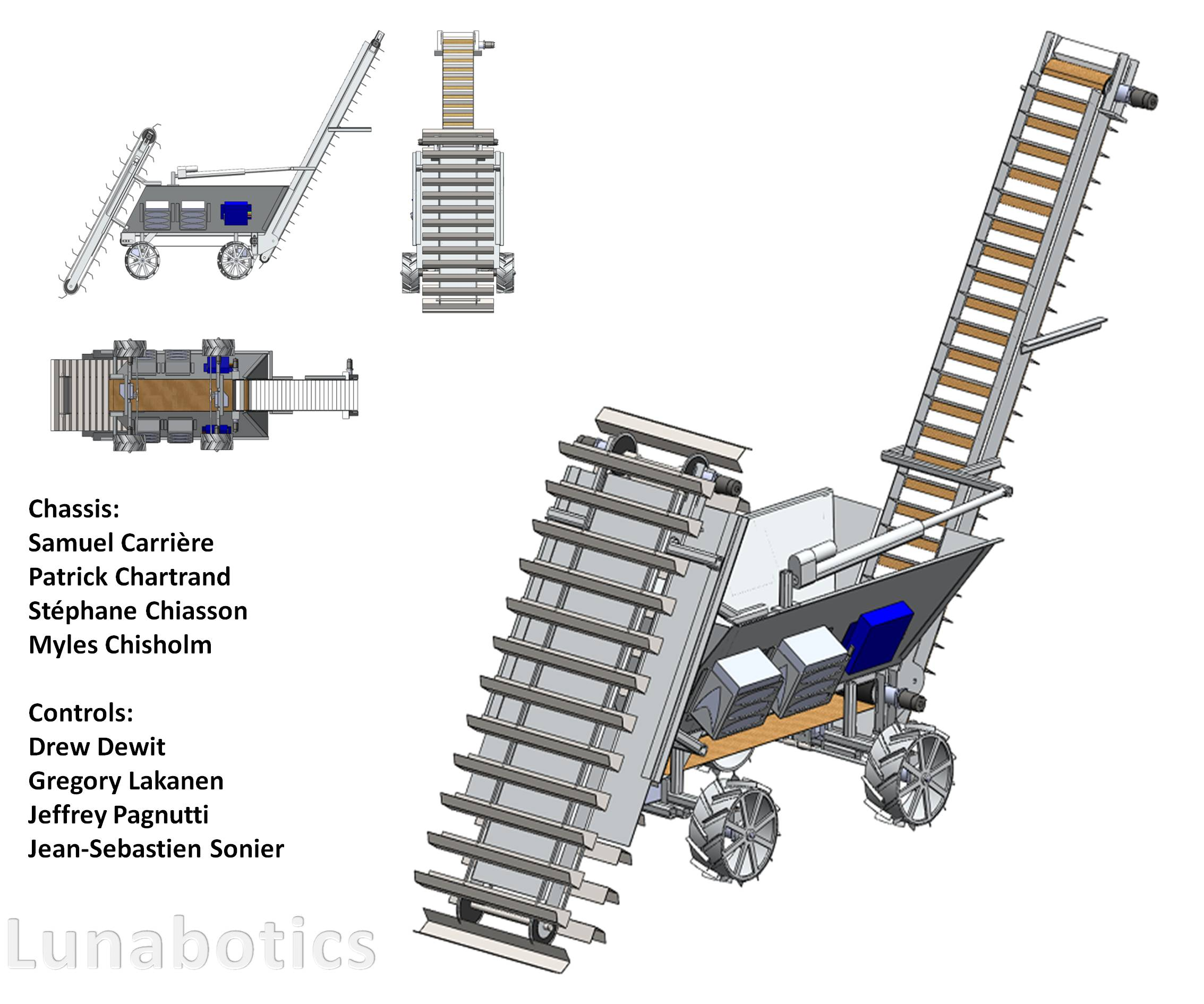 Laurentian University Students win NASA's Lunabotics Competition with SolidWorks