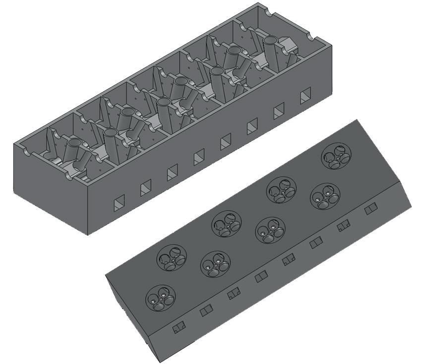 Motor W16: Chiulasa (Partea I)