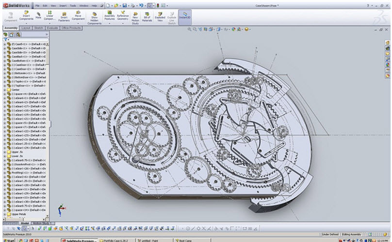 SolidWorks Student has a Dream