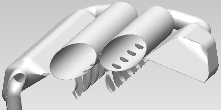 W16 Engine: Intake Manifold