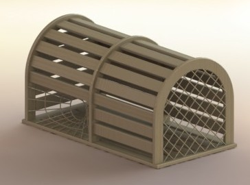 Lobster Trap Using Weldments