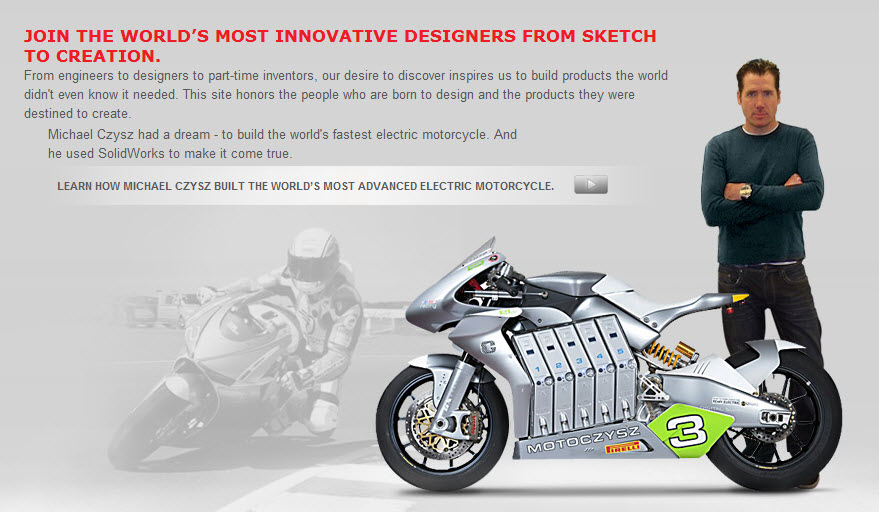 Stories on innovation for your classroom with SolidWorks users who are Born to Design