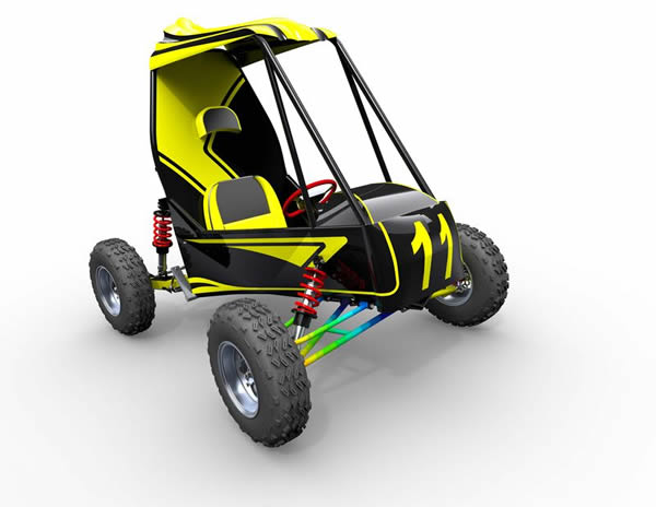 Baja buggy solidworks