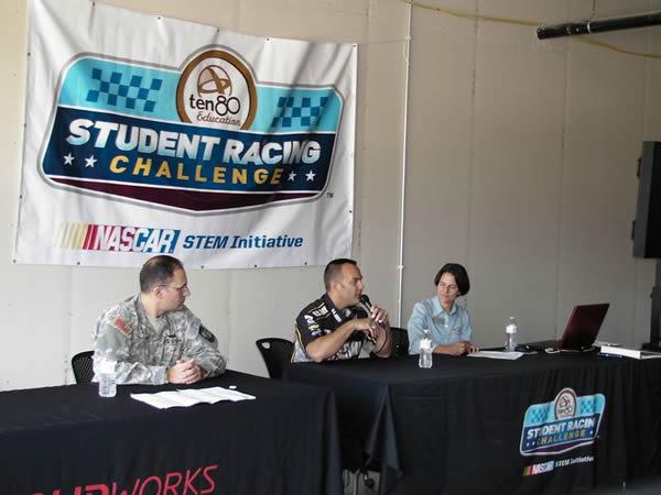 Tony Schumaker Speaks at Student Racing Challenge