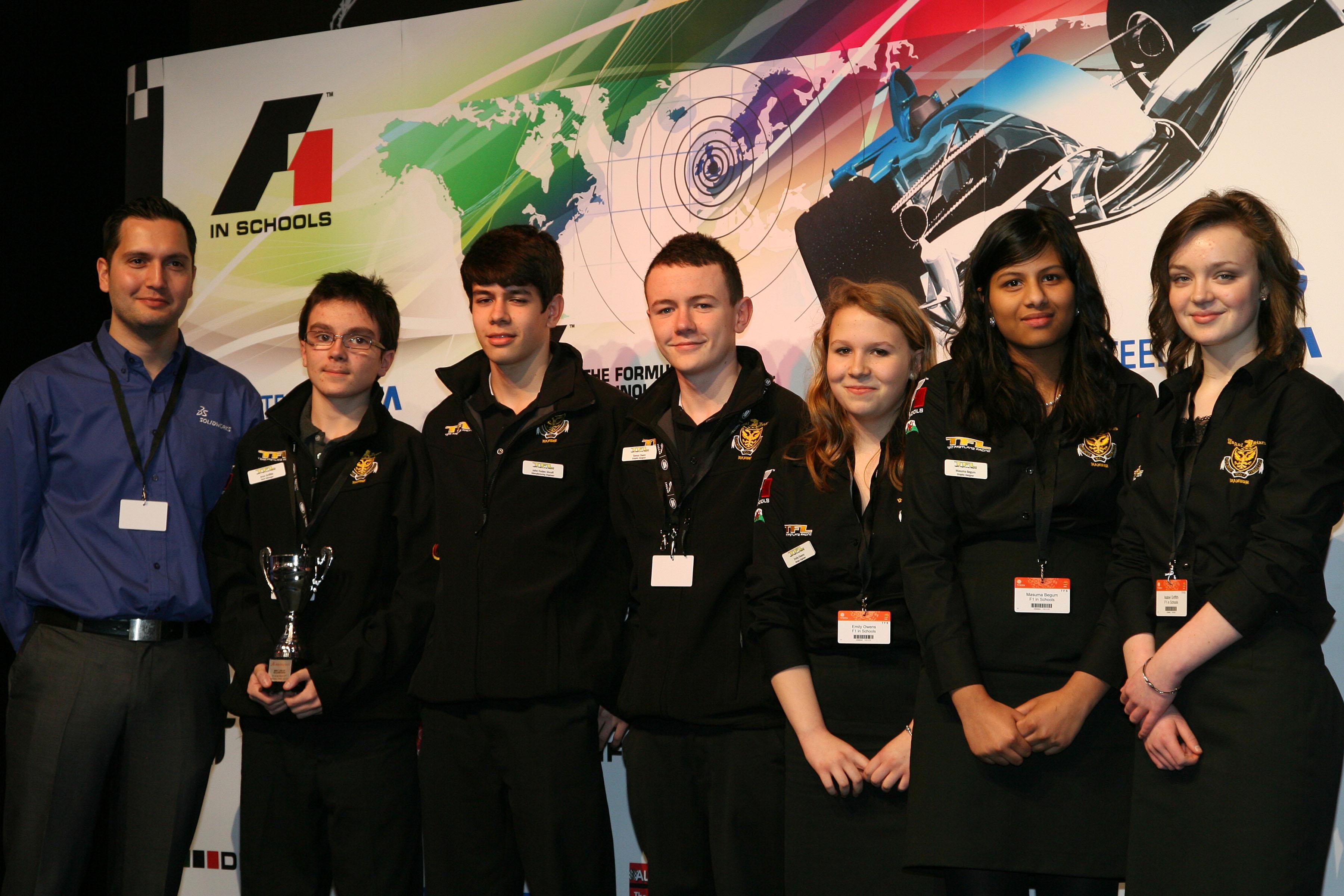 SolidWorks drives F1inSchools UK finals
