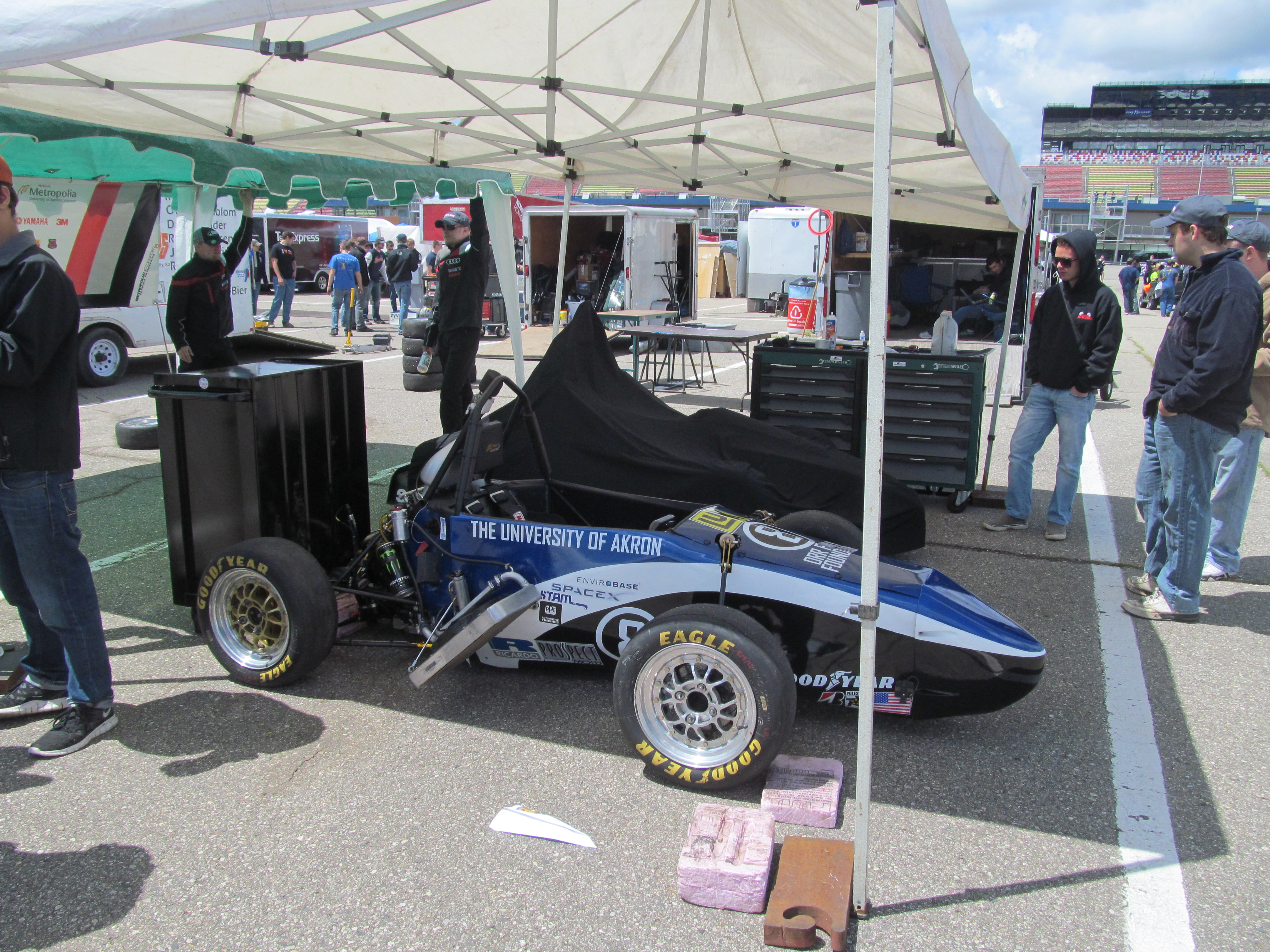Formula SAE Michigan – Engineering Students at their best