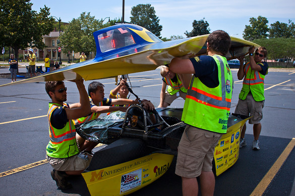 Congratulations to The University of Michigan Solar Team