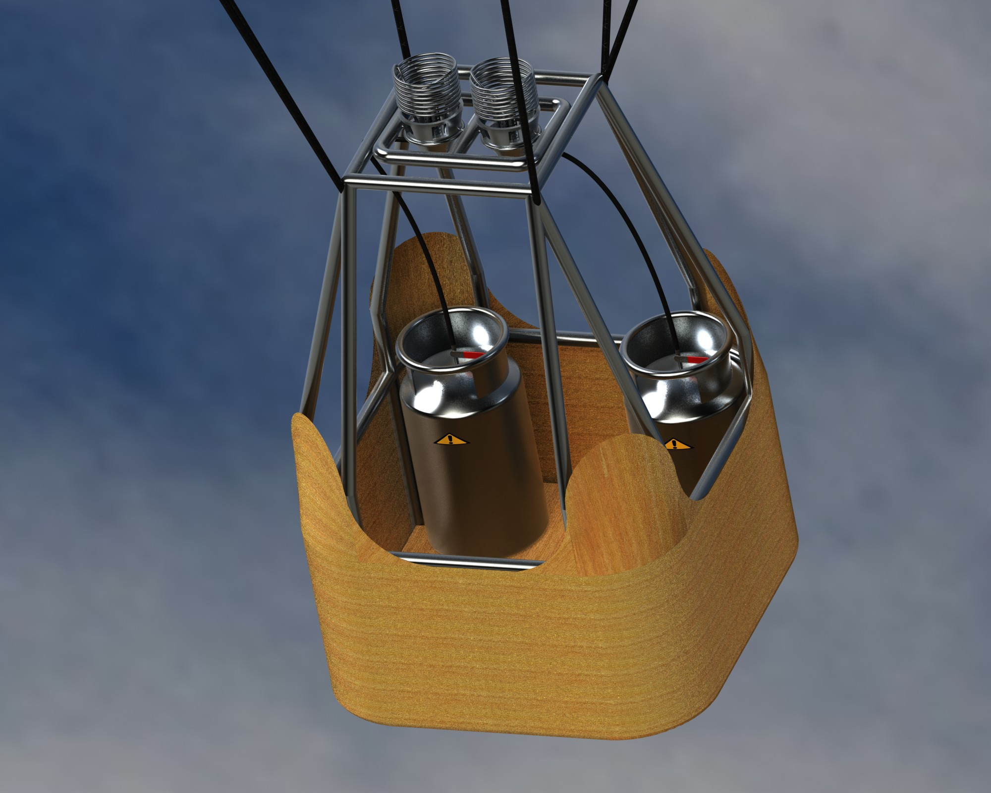 Hot Air Balloon in SolidWorks