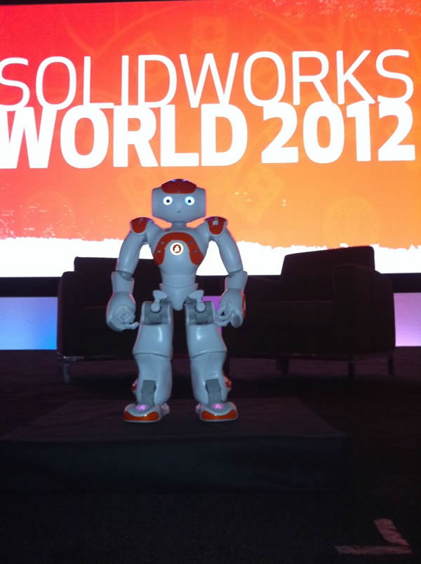 SolidWorks World NOA robot