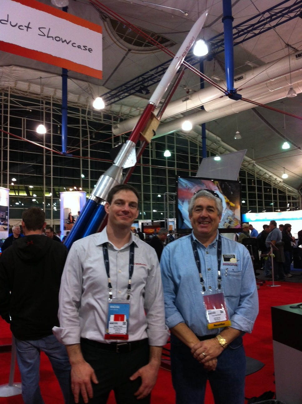 Rocket Man Explodes with Innovation at SolidWorks World 2012