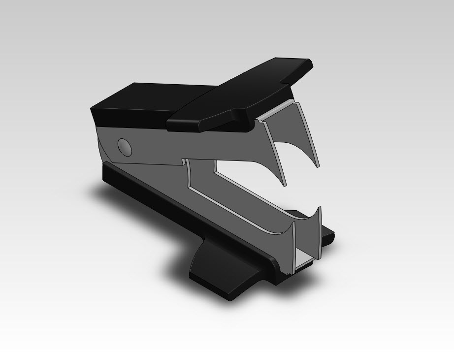 Staple Remover in SolidWorks
