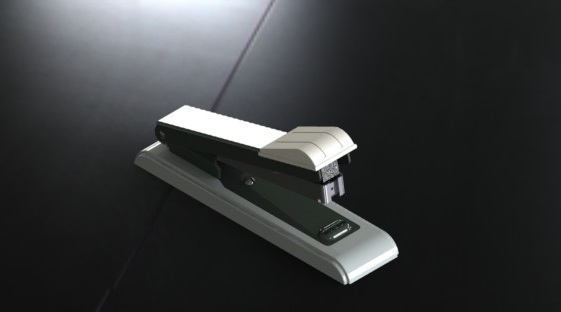 Stapler in SolidWorks