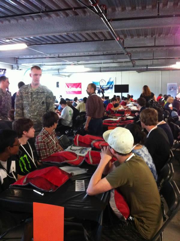 NASCAR STEM Racing Challange Team Meeting
