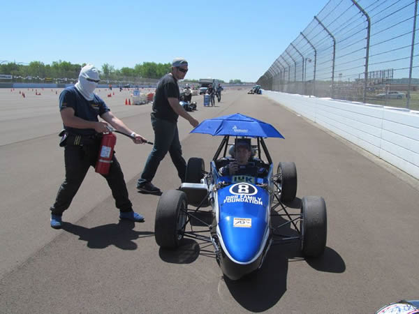 FSAE University of Akron Prepared for Anything