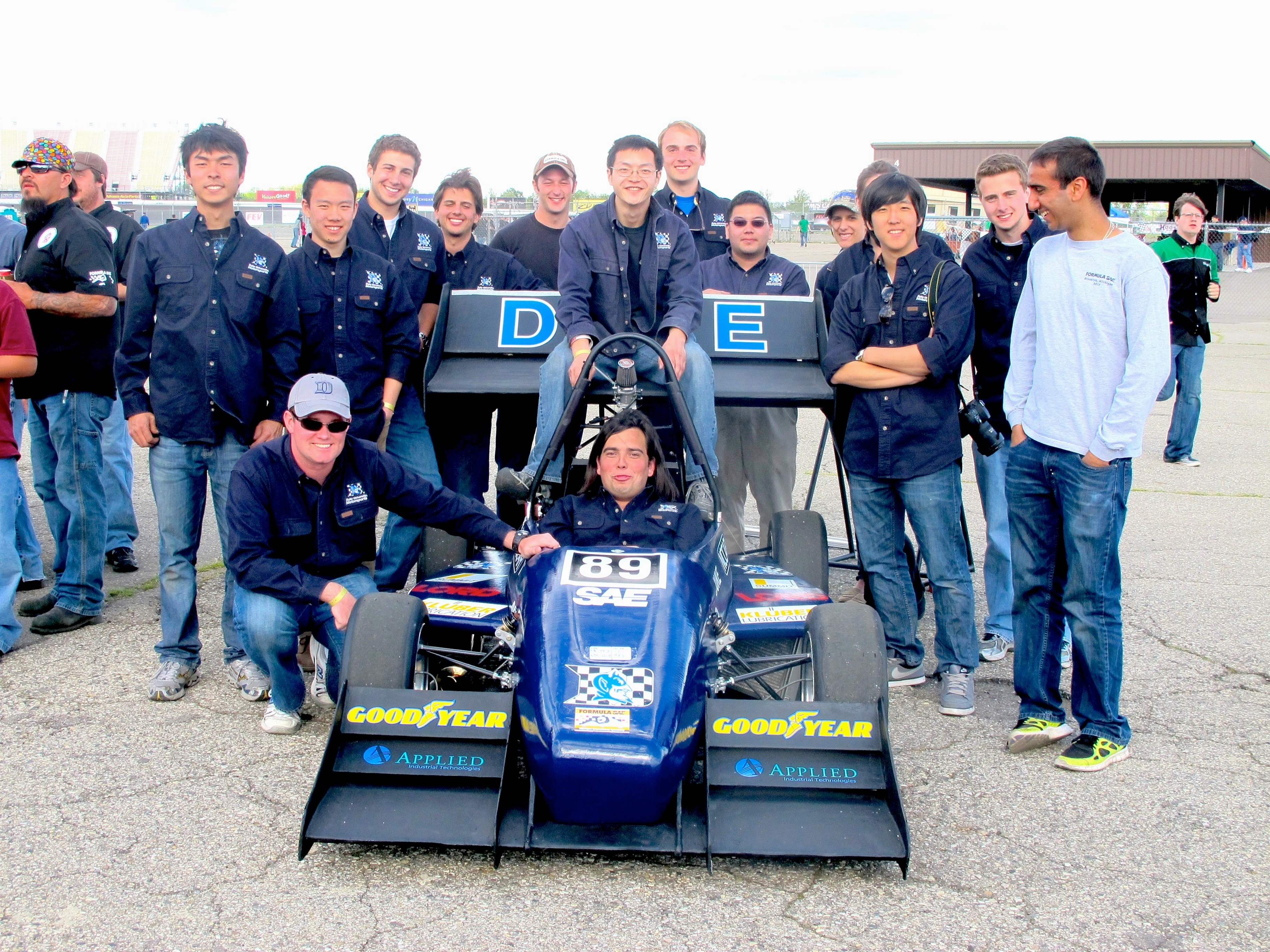 Duke Motor Sports Accelerates at FSAE Michigan