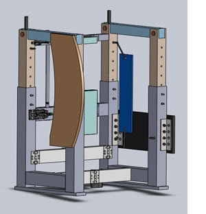 Univ of Waterloo Assistive Standing Device SolidWorks Extended