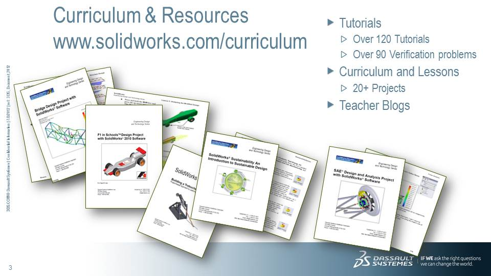 SolidWorks Curriculum and Lessons for Educators