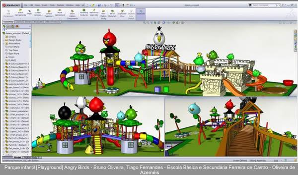 Sqedio Student Design Contest with SolidWorks Playground 2