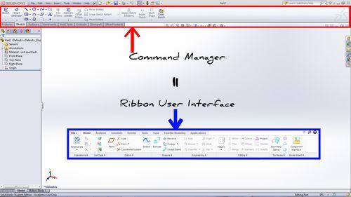 SW User Interface Comparison