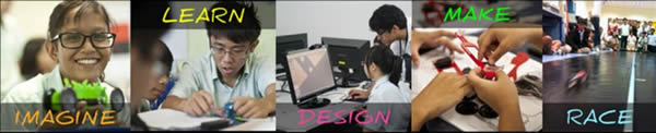 DZC Imagine Learn Design Make Race