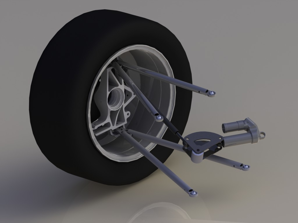 SAE Car Suspension With SolidWorks Motion: Part 2 Set Up