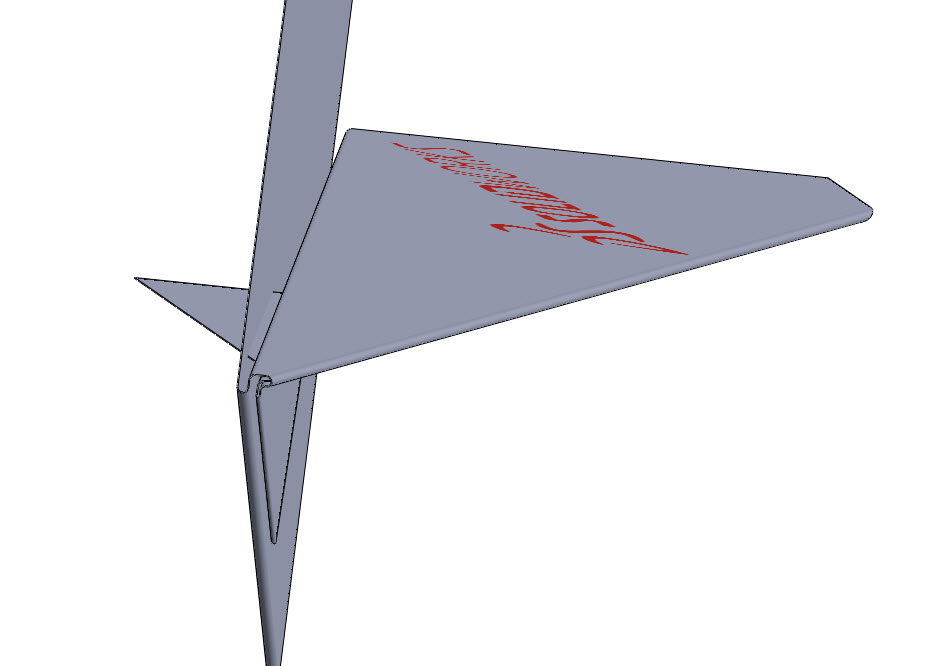 Paper Airplane in SolidWorks
