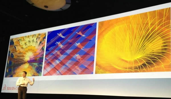 SolidWorks World General Session Day 1 John Stoltzfus Art