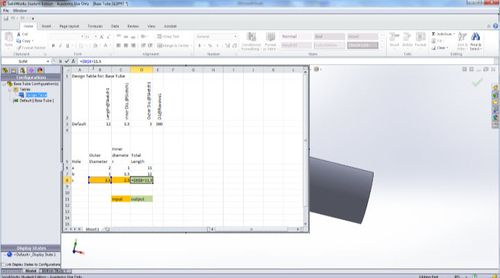SolidWorks Design Table