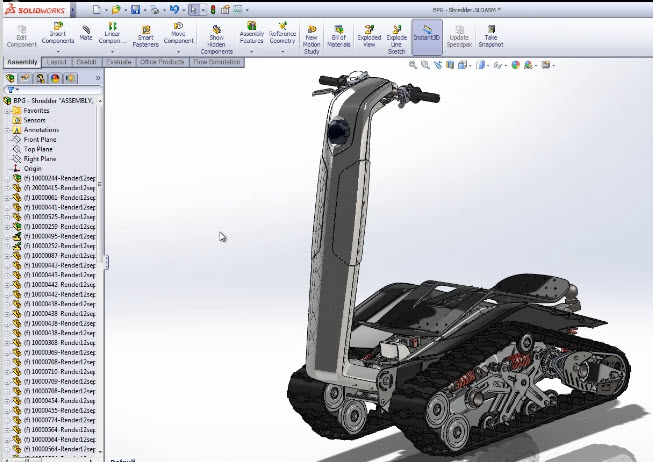 Extreme Sports!  Extreme SolidWorks!