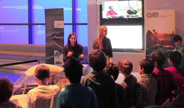 CUER at the Science Museum Primary School Children