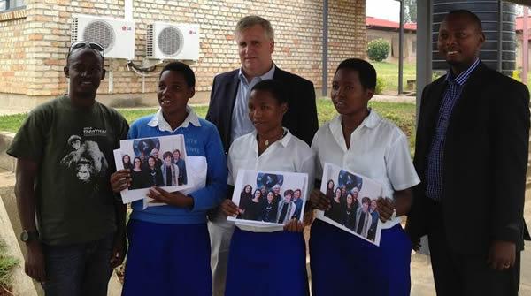 3 Girls in Rwanda