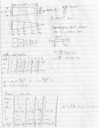 Hand Calculations page 1