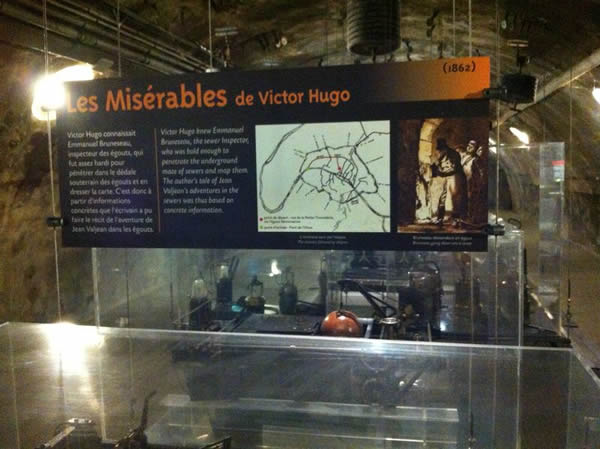 Les Mis Work of Victor Hugo and the Paris Sewer