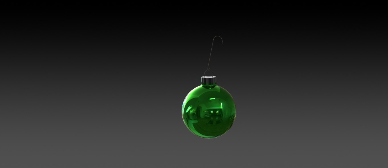 Christmas Tree Bulb in SolidWorks