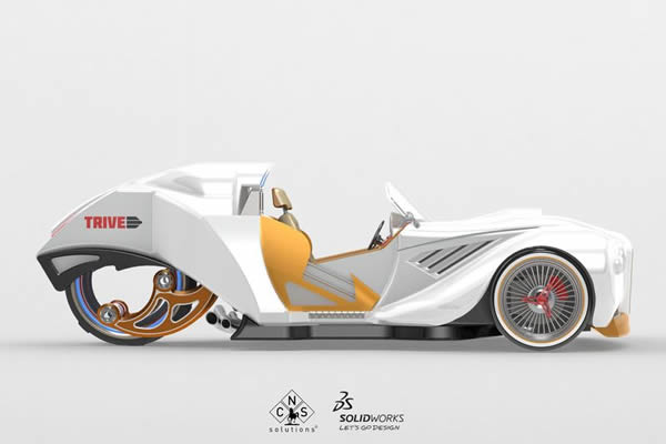 Kamil Panas CNS SolidWorks Design Contest