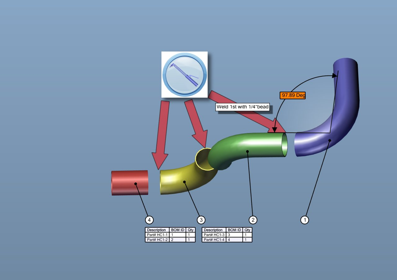 Creating an Engine Assembly Manual with the Help of SolidWorks Composer