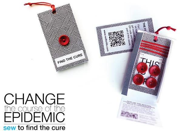 Carlos Escobar Red Button Aids Awareness