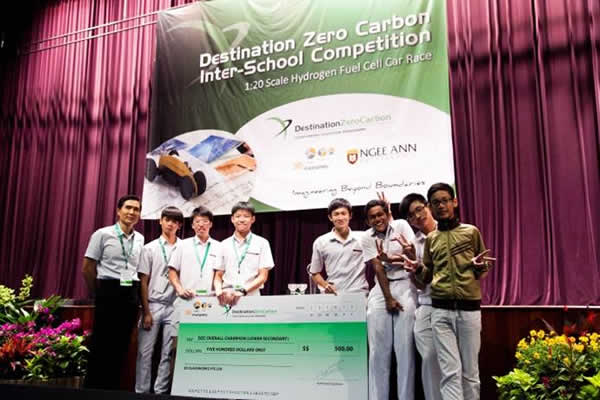 Destination Zero Carbon 2012  Inter School Competition