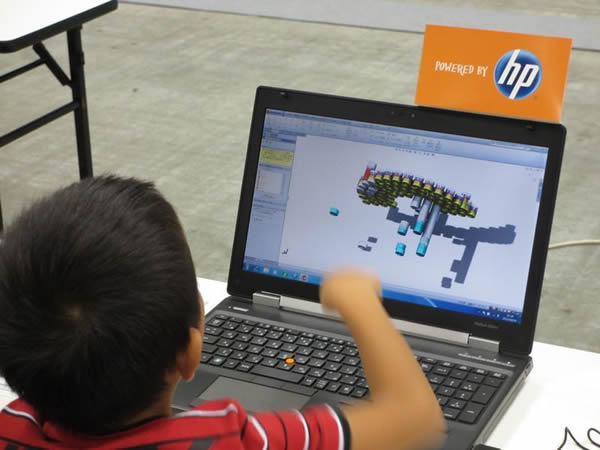 SolidWorks Japan Kids Week Assembly