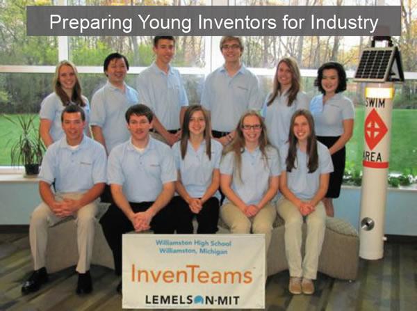 Lemleson MIT InventTeams Williamston HS Michigan SolidWorks World 2013