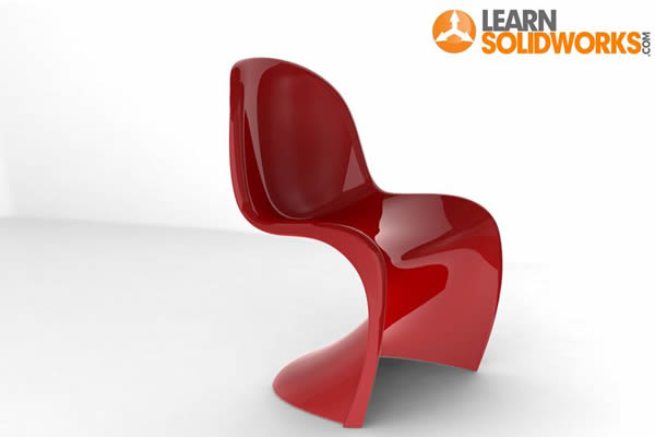 SolidWorks Panton Chair Tutorial - Jan-Willem Zuyderduyn