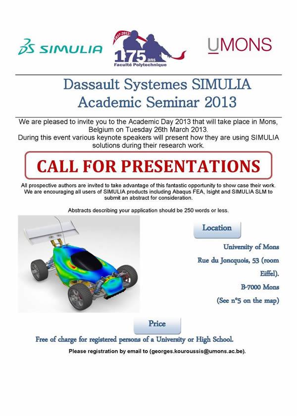 SIMULIA Academic Event 2013